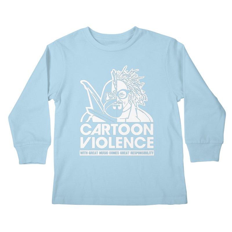 Two Face Shirt Kids Longsleeve T-Shirt by Shirts by Cartoon Violence