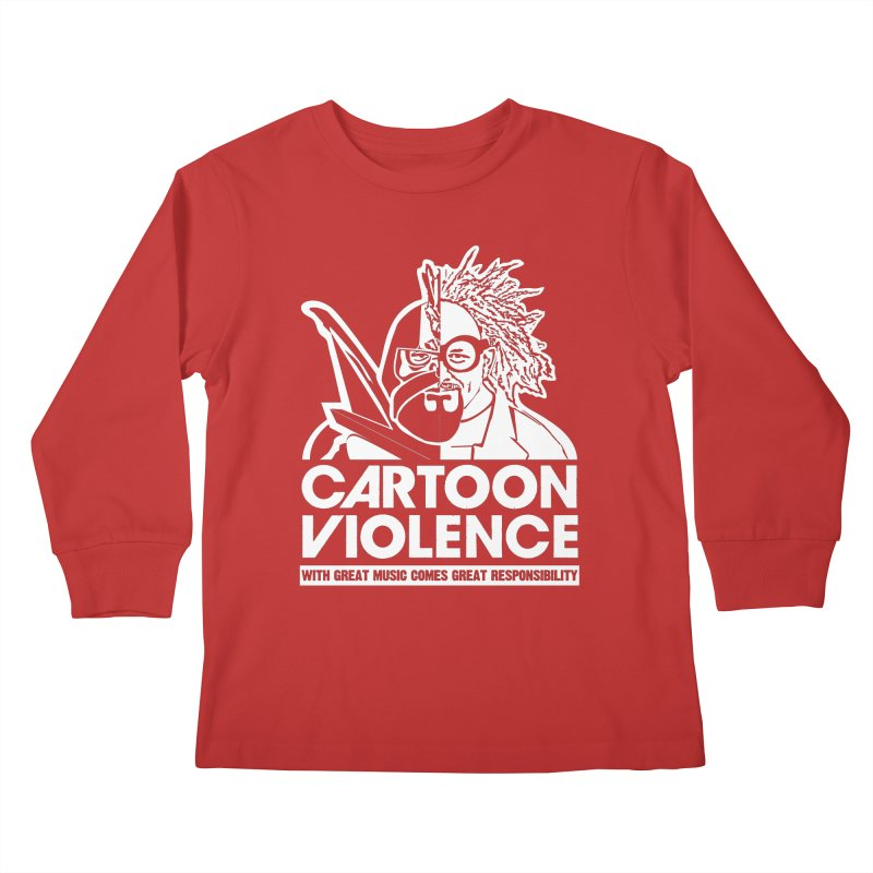 Two Face Shirt Kids Longsleeve T-Shirt by Shirts by Cartoon Violence