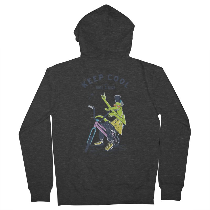 Keep cool Women's Zip-Up Hoody by carvalhostuff's Artist Shop