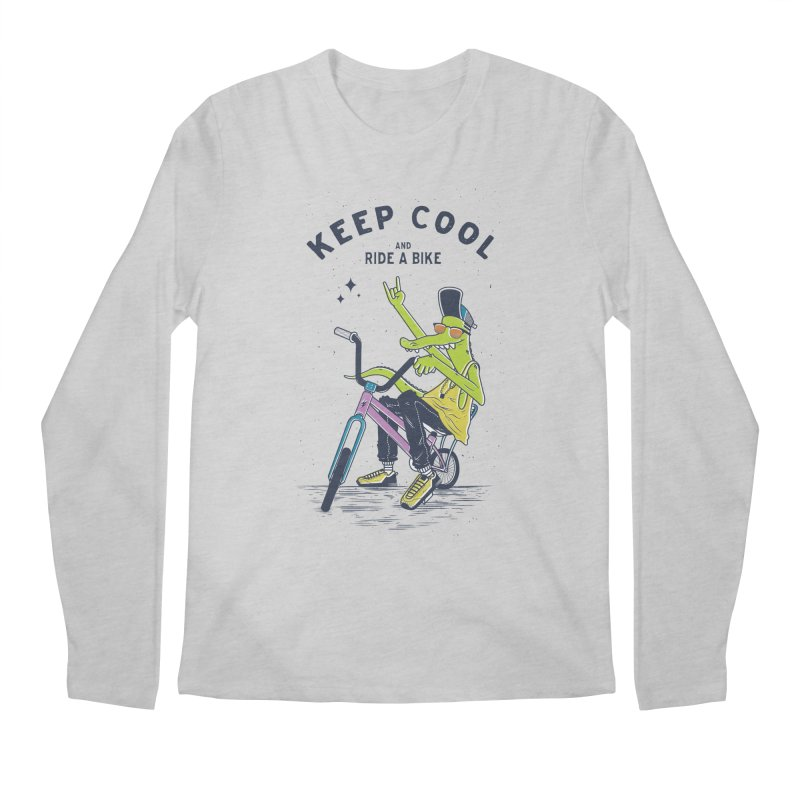 Keep cool Men's Longsleeve T-Shirt by carvalhostuff's Artist Shop