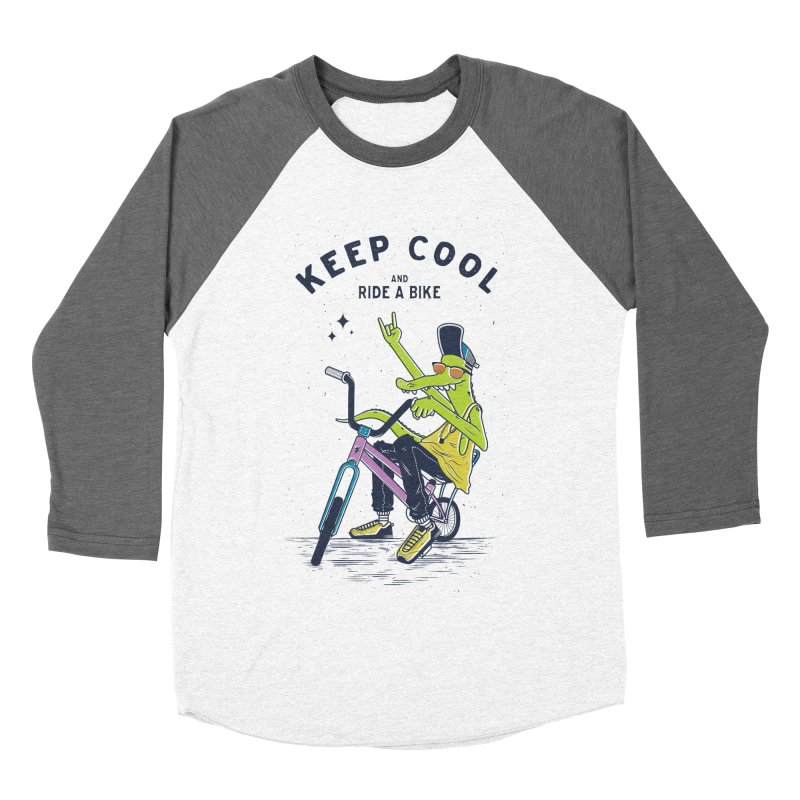 Keep cool Women's Baseball Triblend T-Shirt by carvalhostuff's Artist Shop