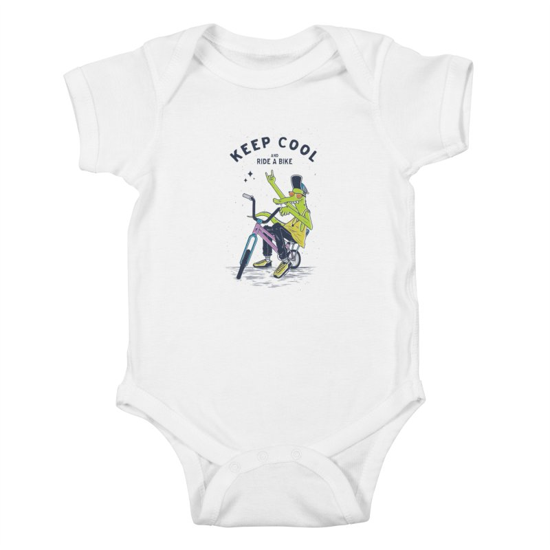 Keep cool Kids Baby Bodysuit by carvalhostuff's Artist Shop