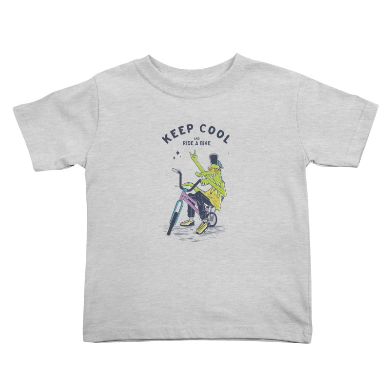 Keep cool Kids Toddler T-Shirt by carvalhostuff's Artist Shop