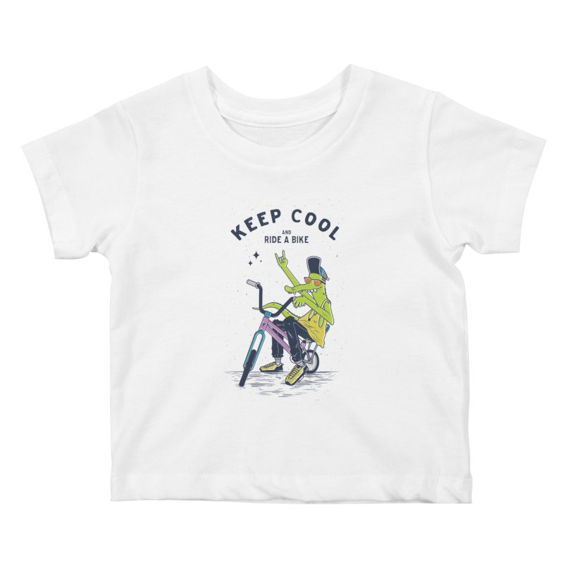 Keep cool Kids Baby T-Shirt by carvalhostuff's Artist Shop
