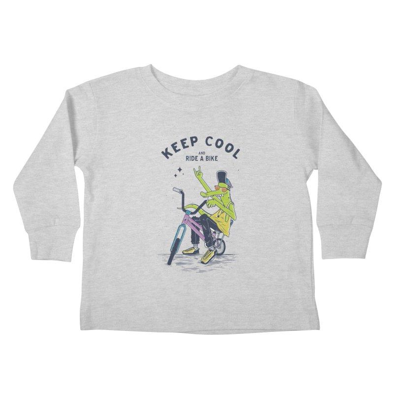 Keep cool Kids Toddler Longsleeve T-Shirt by carvalhostuff's Artist Shop