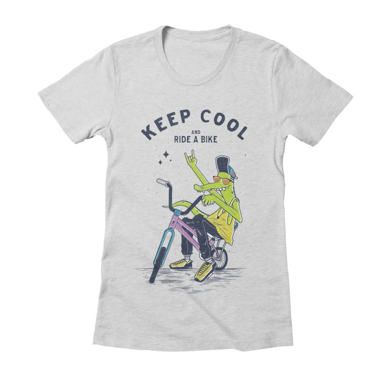Keep cool Women's Fitted T-Shirt by carvalhostuff's Artist Shop