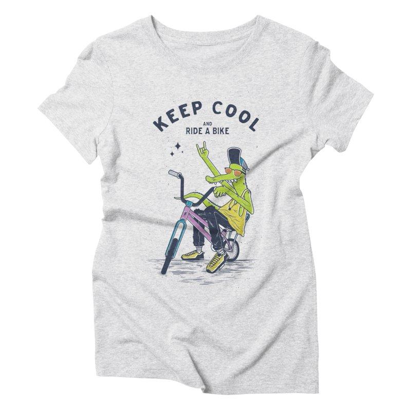 Keep cool Women's Triblend T-shirt by carvalhostuff's Artist Shop