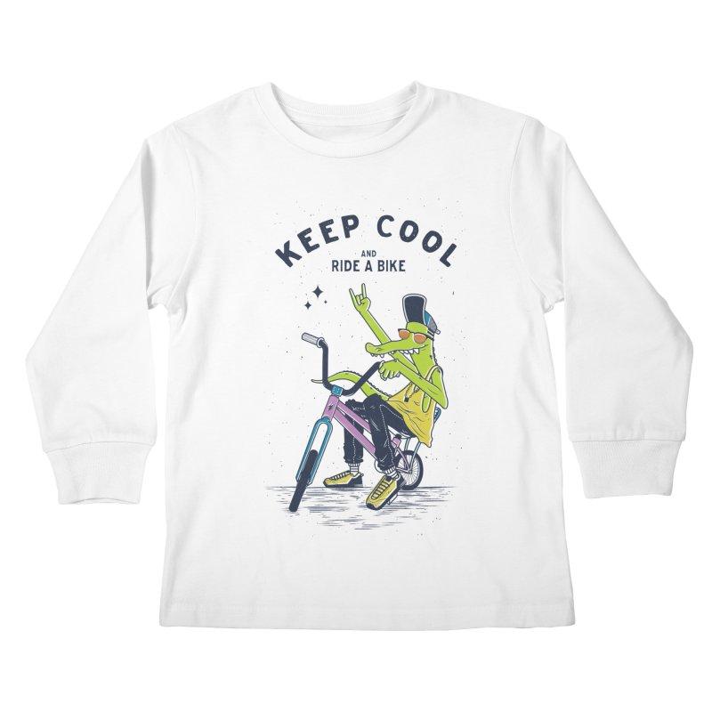 Keep cool Kids Longsleeve T-Shirt by carvalhostuff's Artist Shop