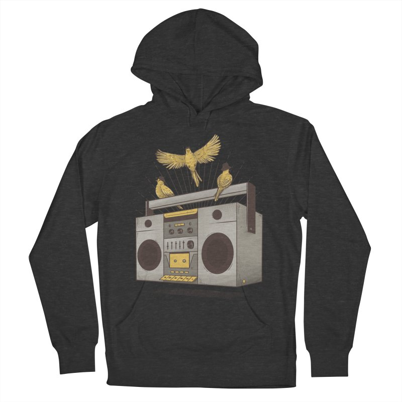 Three little birds Women's Pullover Hoody by carvalhostuff's Artist Shop