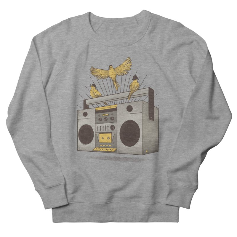 Three little birds Women's Sweatshirt by carvalhostuff's Artist Shop