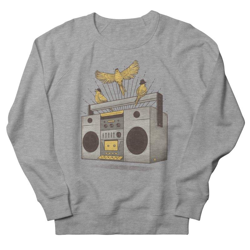 Three little birds Men's Sweatshirt by carvalhostuff's Artist Shop