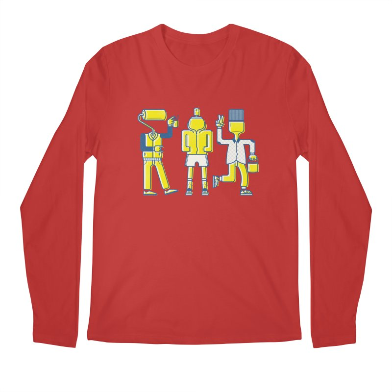 Arround the streets Men's Longsleeve T-Shirt by carvalhostuff's Artist Shop