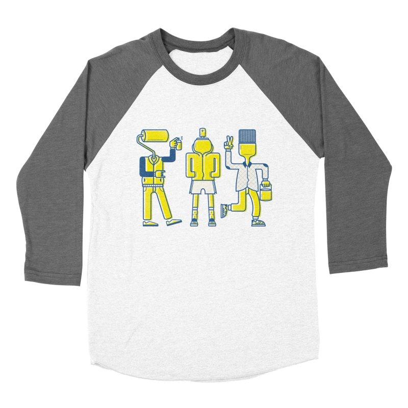 Arround the streets Men's Baseball Triblend T-Shirt by carvalhostuff's Artist Shop