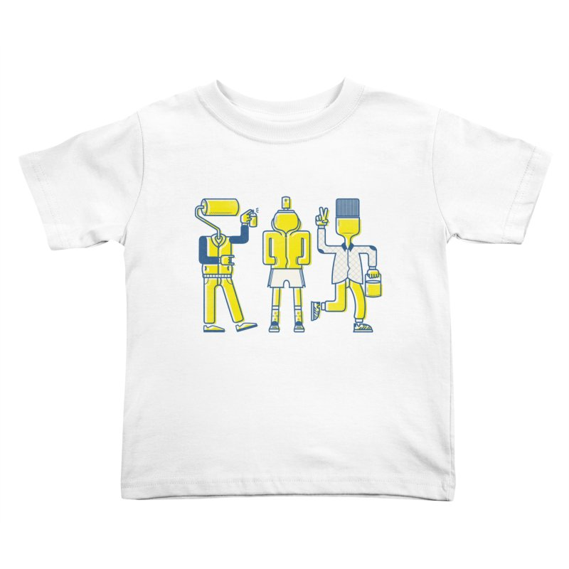 Arround the streets Kids Toddler T-Shirt by carvalhostuff's Artist Shop