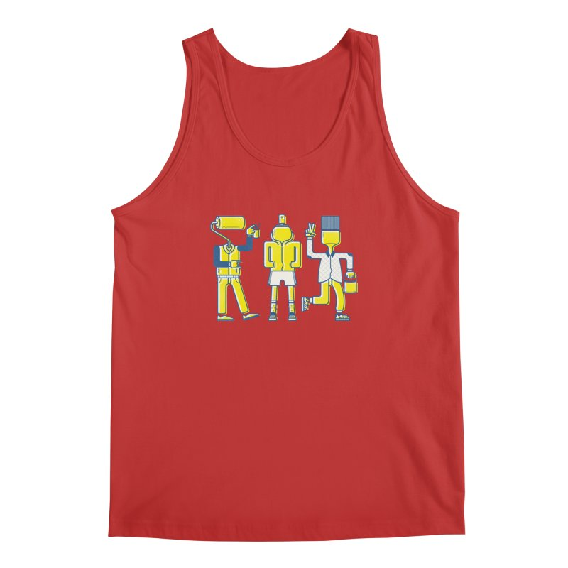 Arround the streets Men's Tank by carvalhostuff's Artist Shop