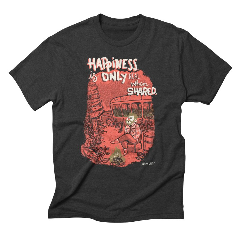 Hapiness Shared Men's Triblend T-Shirt by Vinicius Carvas' Artist Shop