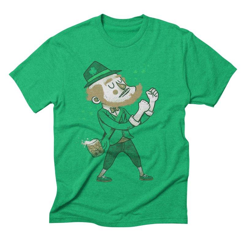 Uncle Patrick Men's Triblend T-shirt by Vinicius Carvas' Artist Shop