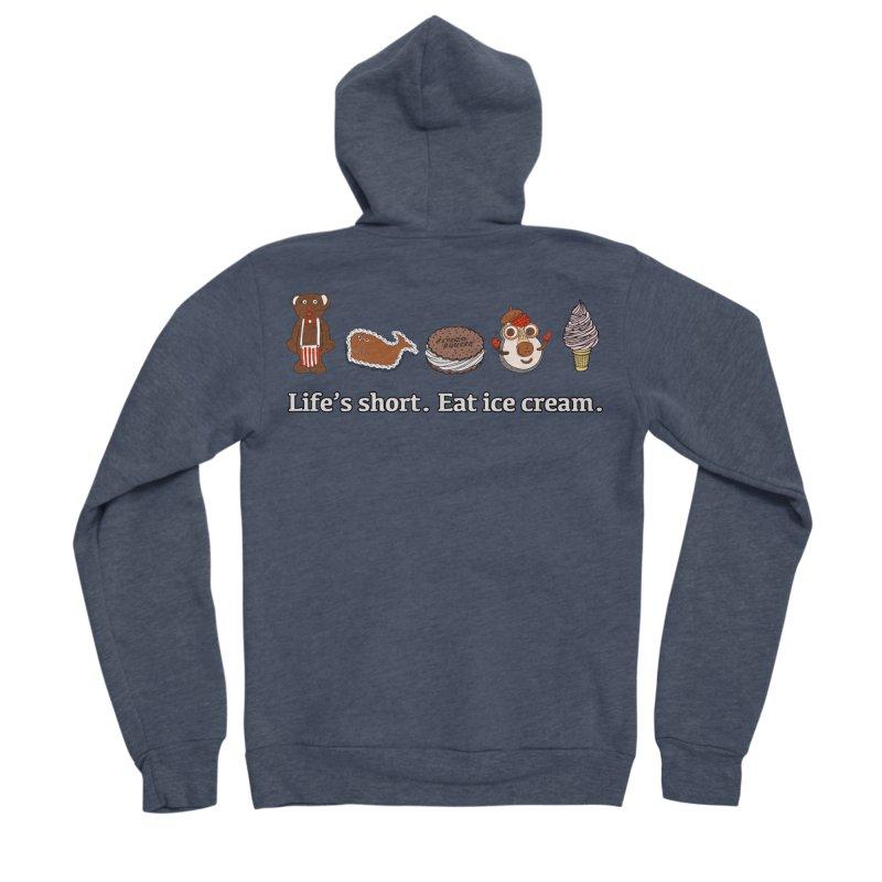 Life's Short Women's Sponge Fleece Zip-Up Hoody by Carvel Ice Cream's Shop