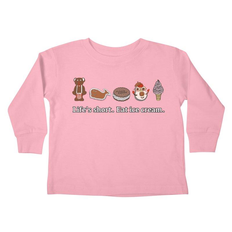 Life's Short Kids Toddler Longsleeve T-Shirt by Carvel Ice Cream's Shop