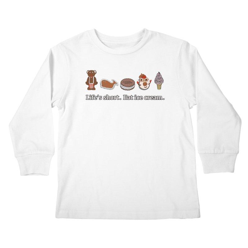 Life's Short Kids Longsleeve T-Shirt by Carvel Ice Cream's Shop