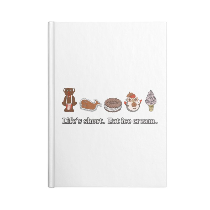 Life's Short Accessories Notebook by Carvel Ice Cream's Shop