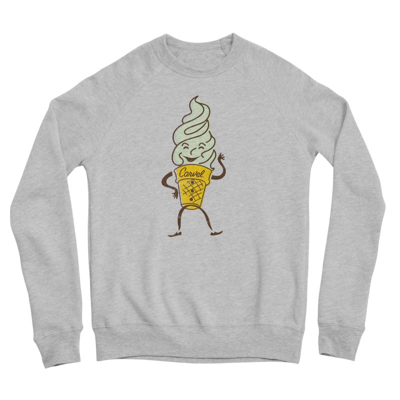 Ice Cream Man Women's Sponge Fleece Sweatshirt by Carvel Ice Cream's Shop