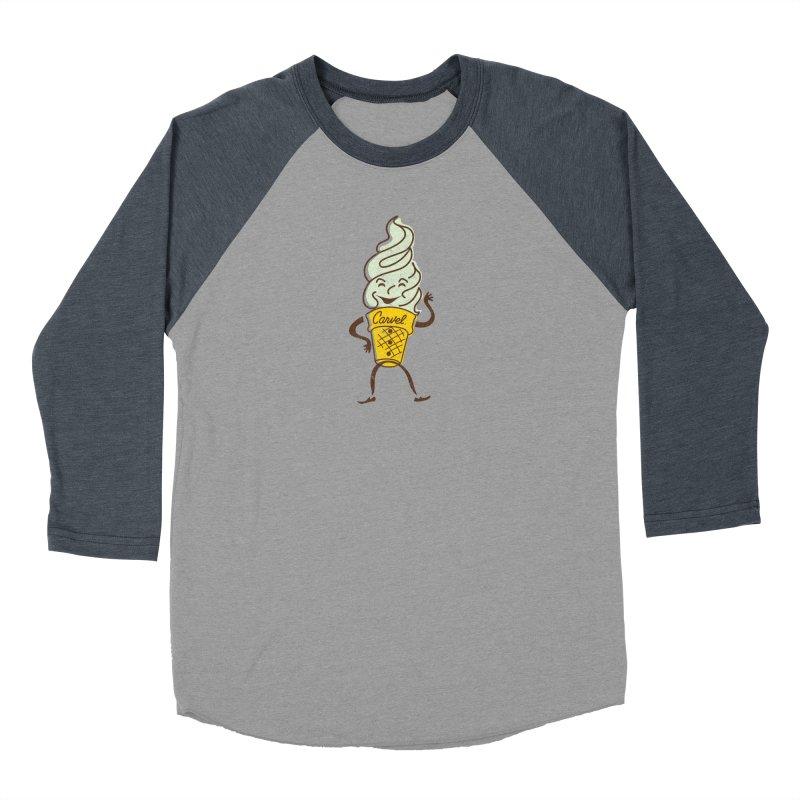 Ice Cream Man Men's Baseball Triblend Longsleeve T-Shirt by Carvel Ice Cream's Shop