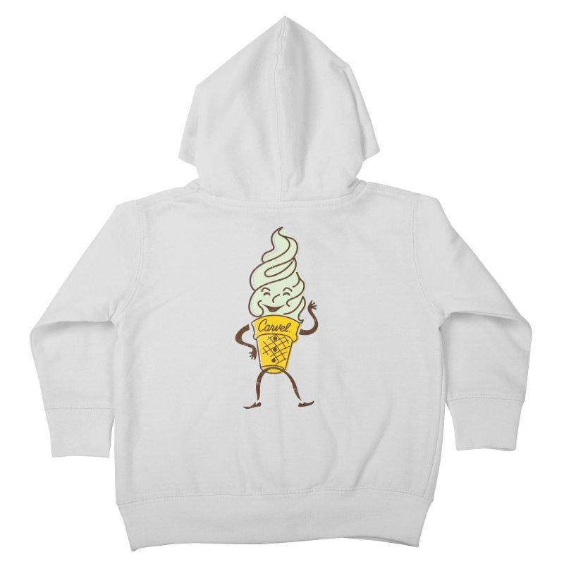 Ice Cream Man Kids Toddler Zip-Up Hoody by Carvel Ice Cream's Shop