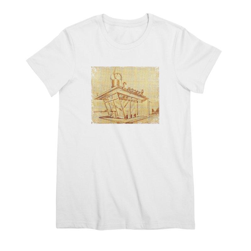 Carvel Shoppe Print Women's Premium T-Shirt by Carvel Ice Cream's Shop