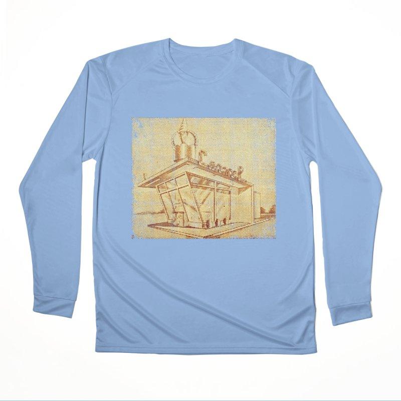 Carvel Shoppe Print Men's Performance Longsleeve T-Shirt by Carvel Ice Cream's Shop