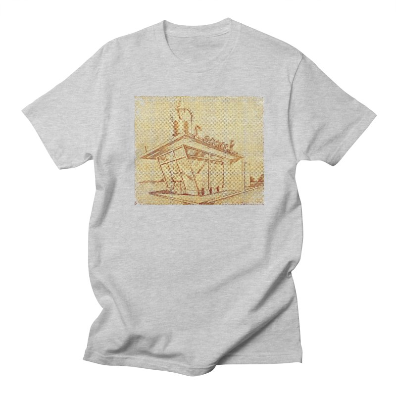 Carvel Shoppe Print in Men's Regular T-Shirt Heather Grey by Carvel Ice Cream's Shop