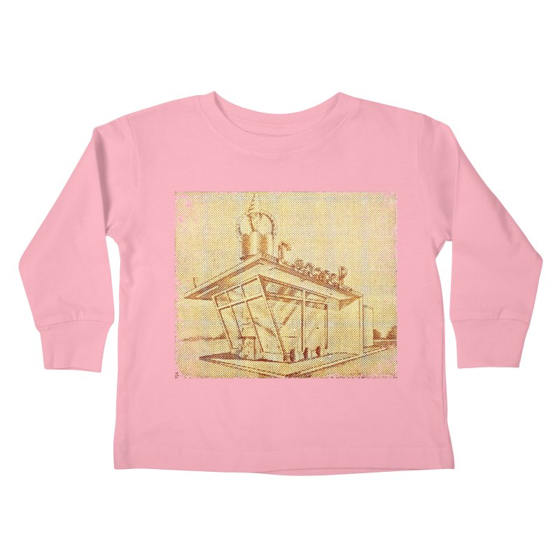 Carvel Shoppe Print Kids Toddler Longsleeve T-Shirt by Carvel Ice Cream's Shop