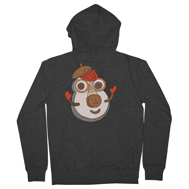 Cookie Puss Men's French Terry Zip-Up Hoody by Carvel Ice Cream's Shop