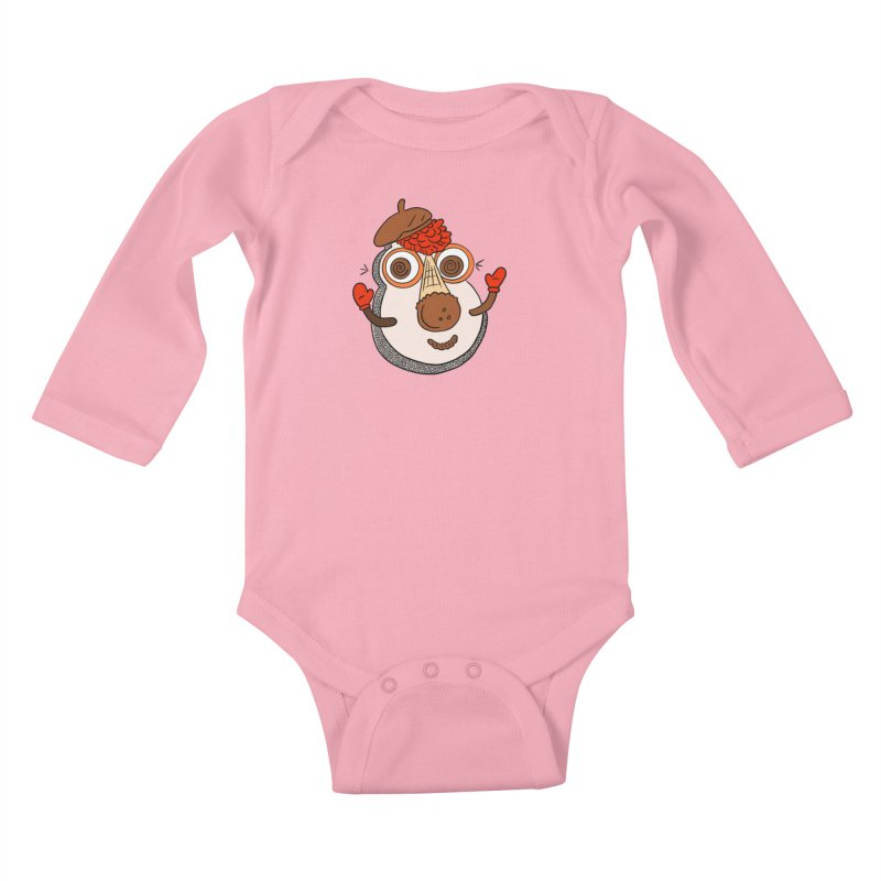Cookie Puss Kids Baby Longsleeve Bodysuit by Carvel Ice Cream's Shop