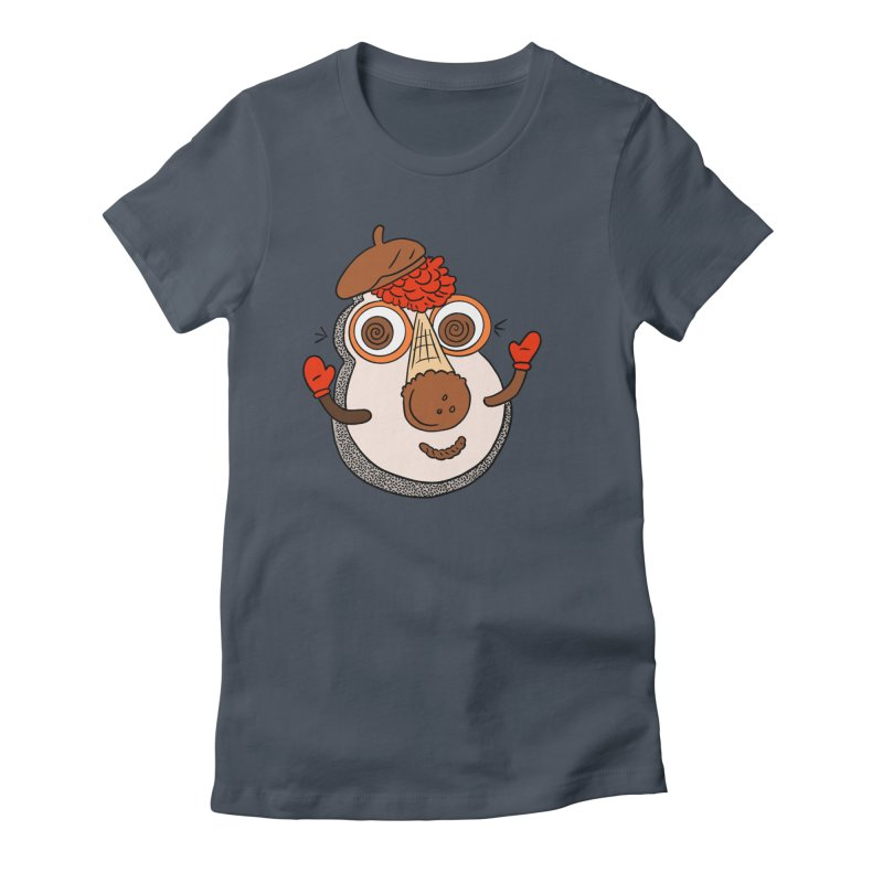 Cookie Puss Women's Fitted T-Shirt by Carvel Ice Cream's Shop