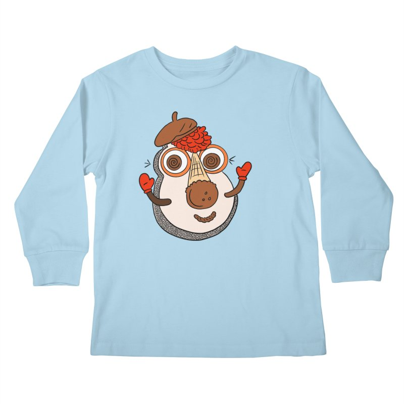 Cookie Puss Kids Longsleeve T-Shirt by Carvel Ice Cream's Shop
