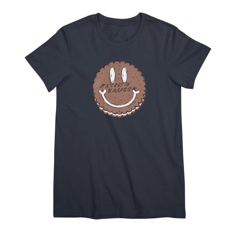 Carvel Saucer Smiley Women's Premium T-Shirt by Carvel Ice Cream's Shop