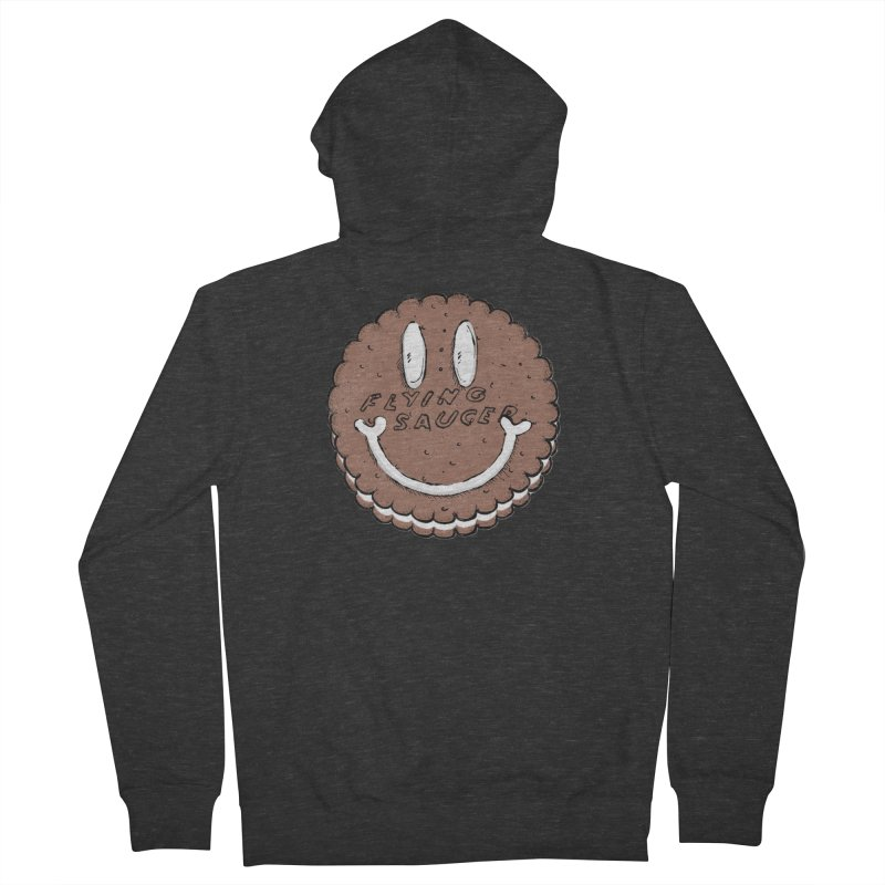 Carvel Saucer Smiley Women's French Terry Zip-Up Hoody by Carvel Ice Cream's Shop