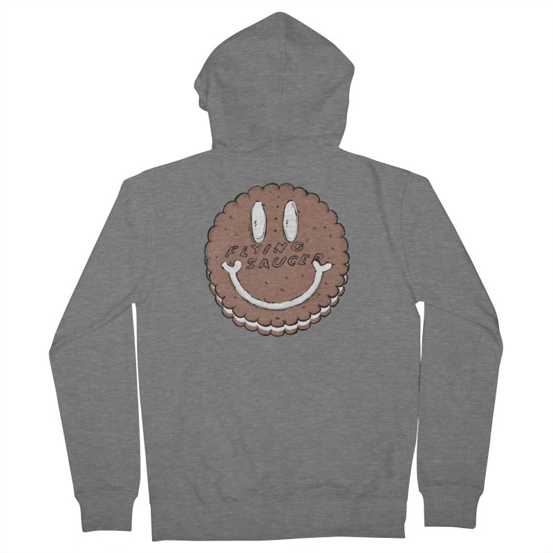 Carvel Saucer Smiley Men's French Terry Zip-Up Hoody by Carvel Ice Cream's Shop