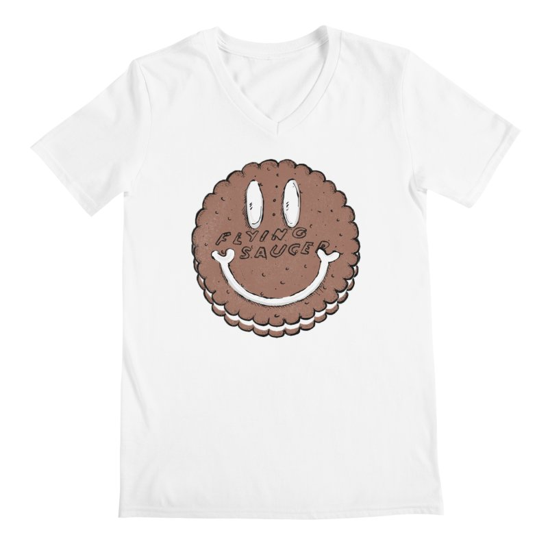 Carvel Saucer Smiley Men's V-Neck by Carvel Ice Cream's Shop