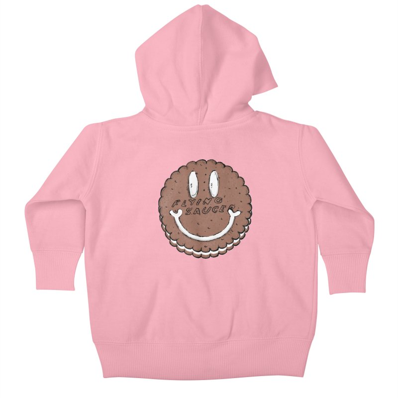 Carvel Saucer Smiley Kids Baby Zip-Up Hoody by Carvel Ice Cream's Shop