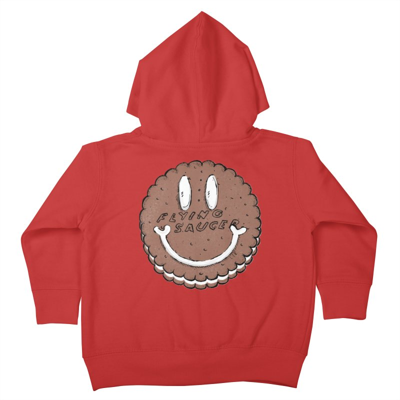 Carvel Saucer Smiley Kids Toddler Zip-Up Hoody by Carvel Ice Cream's Shop