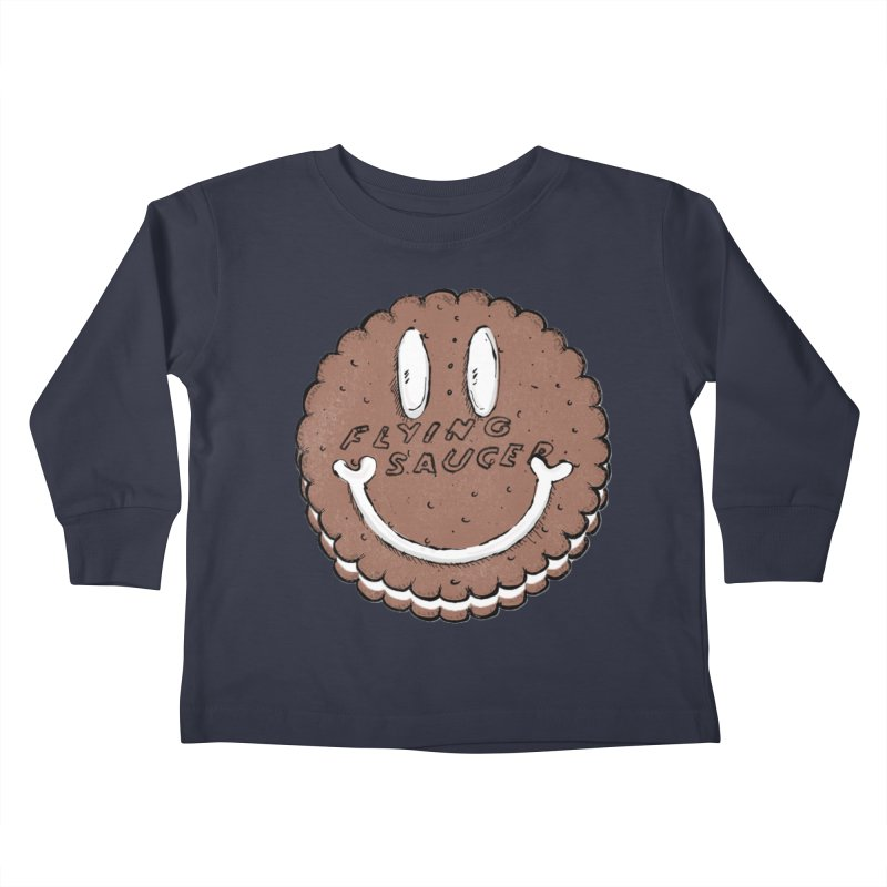 Carvel Saucer Smiley Kids Toddler Longsleeve T-Shirt by Carvel Ice Cream's Shop