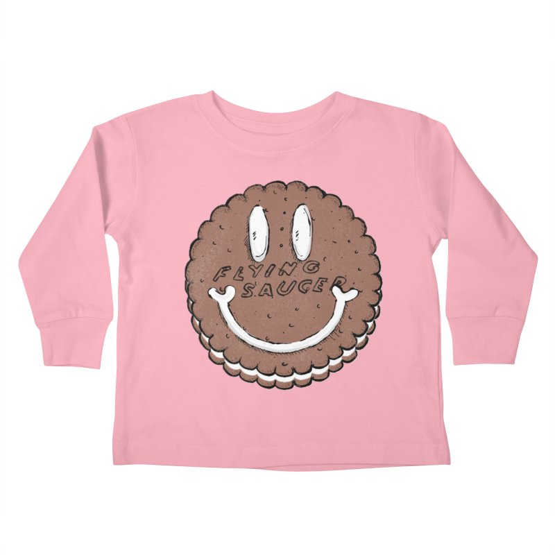 Carvel Saucer Smiley Kids Toddler Longsleeve T-Shirt by Carvel Ice Cream's Shop