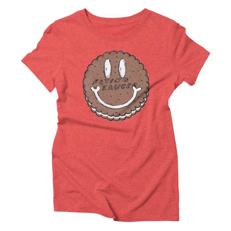 Carvel Saucer Smiley Women's Triblend T-Shirt by Carvel Ice Cream's Shop