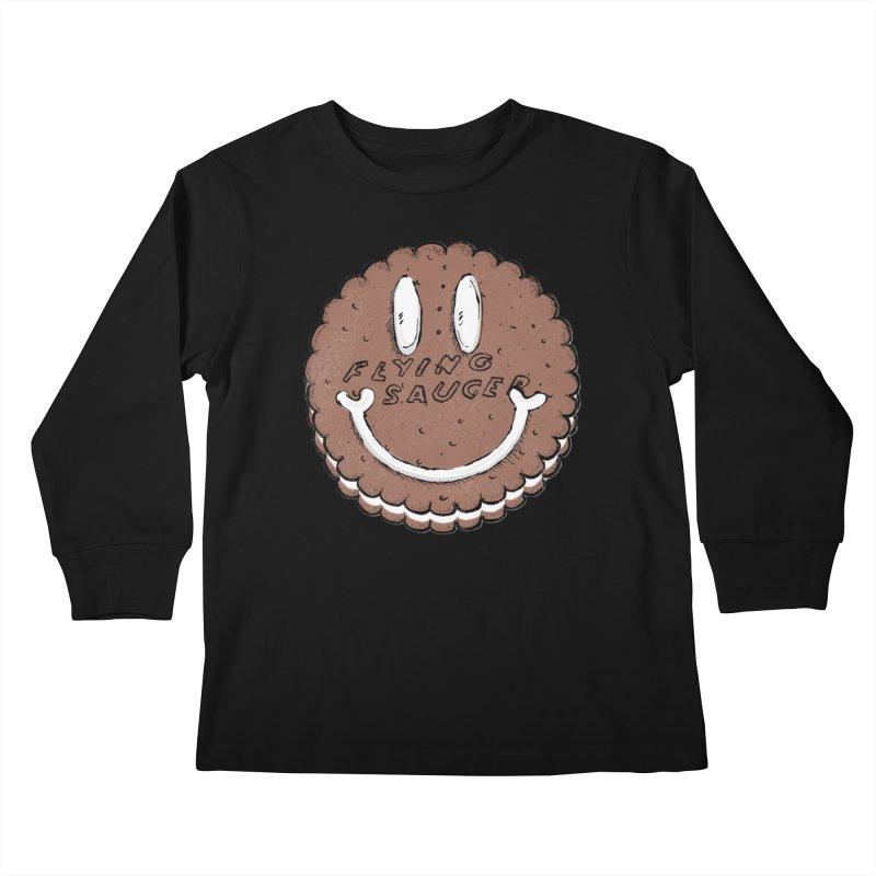Carvel Saucer Smiley Kids Longsleeve T-Shirt by Carvel Ice Cream's Shop