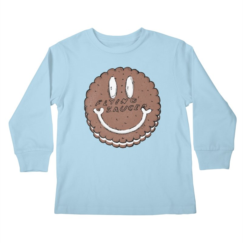 Carvel Saucer Smiley Kids Longsleeve T-Shirt by Carvel Ice Cream's Shop