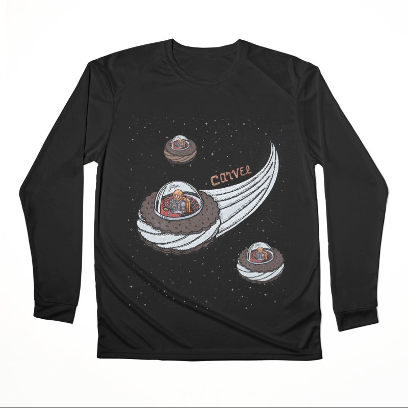 Flying Saucer Spacemen Women's Performance Unisex Longsleeve T-Shirt by Carvel Ice Cream's Shop
