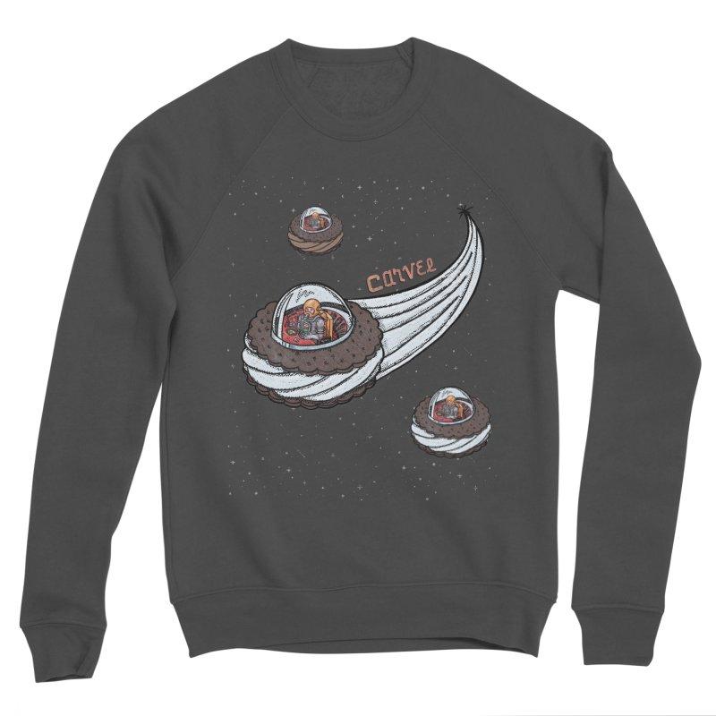 Flying Saucer Spacemen Women's Sponge Fleece Sweatshirt by Carvel Ice Cream's Shop