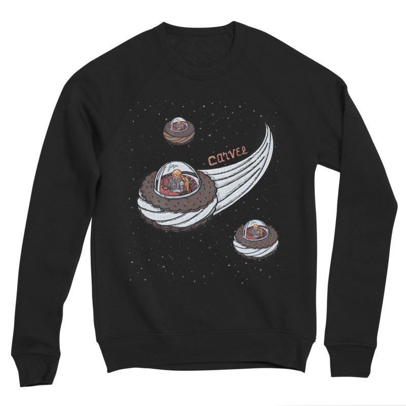 Flying Saucer Spacemen Men's Sponge Fleece Sweatshirt by Carvel Ice Cream's Shop